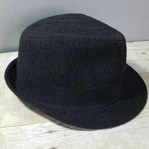 Stetson Accessories - All American Stetson Black Gray Wool Blend Fedora 8125c5e6dc4